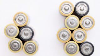 使用済み乾電池