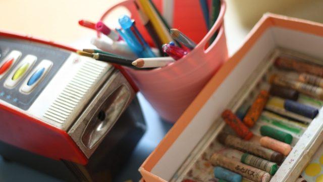 電動鉛筆削りが詰まった